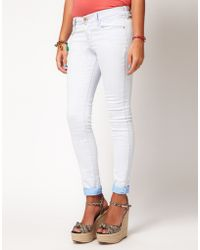 River Island River Island Super Skinny Jeans - Lyst