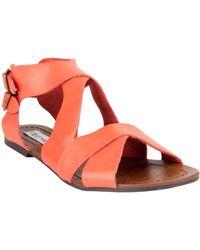 Steve Madden Achilees Flat Sandals - Lyst