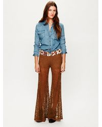 Free People Full Lace Pant - Lyst
