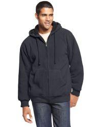 Weatherproof - Faux Fur Lined Fleece Hoodie - Lyst