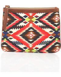 Cynthia Vincent - Tribalprint Canvas Pouch Cusp Top Seller - Lyst