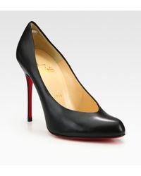 Christian Louboutin Leather Pumps - Lyst
