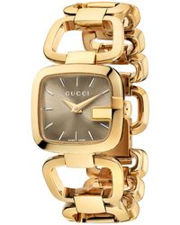 Gucci Ya125511 G- Collection Pvd Watch - For Women gold - Lyst