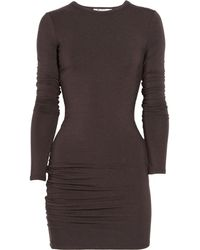 T By Alexander Wang Stretchjersey Dress - Lyst