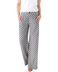 Vince - Printed Silk Pyjama Trousers - Lyst