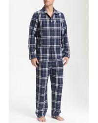 Burberry London Pajama Box Set blue - Lyst