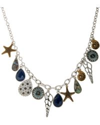 Eci - Shell Charm Necklace - Lyst