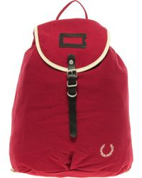 Fred Perry - Fred Perry Authentic Backpack with Cream Piping - Lyst