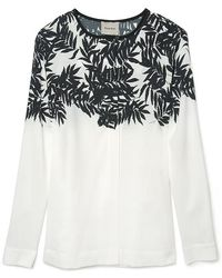 Peter Som - Bamboo Blouse - Lyst