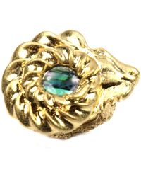 Rachel Roy Abalone Aries Adjustable Ring - Metallic