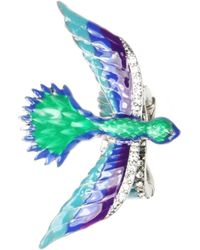 Rachel Roy Adjustable Bird Cocktail Ring - Metallic