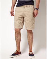 Pepe Jeans Pepe Jeans Fairfax Chino Shorts - Natural