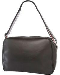Ben Sherman - Ben Sherman Black Union Jack Leather Shoulder Bag - Lyst