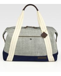 Rag & Bone - Denim Duffle Bag - Lyst