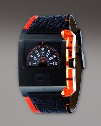 01 The One Watches - Turning Disc Analog Watch - Lyst