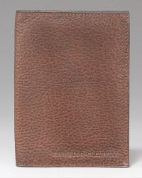 Brunello Cucinelli | Bison Passport Holder | Lyst