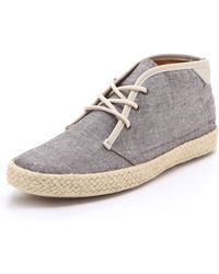 Pointer - Kc Lace Up Chambray Trainers - Lyst