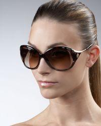 Roberto Cavalli Opentemple Wirearm Sunglasses - Lyst