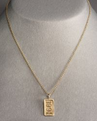 Heather Moore - Rectangle Personalized Date Charm - Lyst