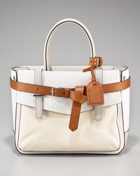 Reed Krakoff - Boxer Leather-detailed Canvas Tote - Lyst