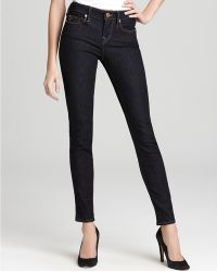 Ash - True Religion Jeans Halle Mid Rise Super Skinny Jeans in Body Rinse Wash - Lyst