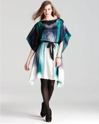 Elie Tahari Laurel Tie Waist Dress - Lyst