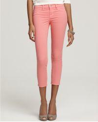 J Brand 835 Crop Skinny Jeans - Lyst