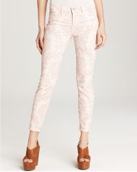 J Brand Jeans Mid Rise Skinny Jeans in Baroque - Lyst