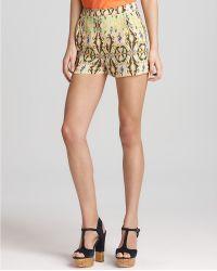 Tibi Shorts Printed - Lyst