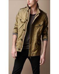 Burberry Brit - Workwear Cotton Field Jacket - Lyst