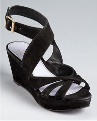 Delman Sandals - Clara Platform Wedge - Lyst
