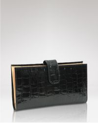 Tusk - Wallet Antique Croc Slim - Lyst