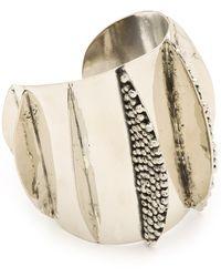 Anndra Neen - Mirror and Pin Shark Cuff - Lyst