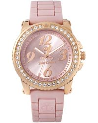Juicy Couture Womens Pedigree Pink Jelly Strap pink - Lyst
