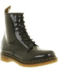 Dr. Martens 8 Eyelet Lace Up Boot black - Lyst