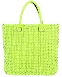 Leghilà Tote Bag green - Lyst