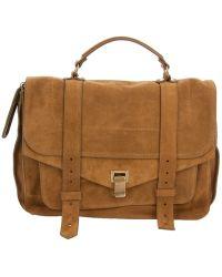 Proenza Schouler Ps1 Large Satchel Bag - Lyst