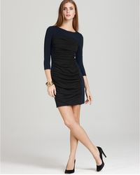 Theory Dress Anora Encase Color Block - Lyst