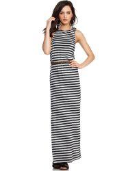 BCBGeneration Sleeveless Maxi Dress - Lyst
