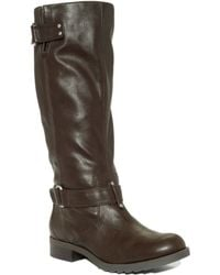 Kenneth Cole Reaction Love Seat Tall Boots - Brown