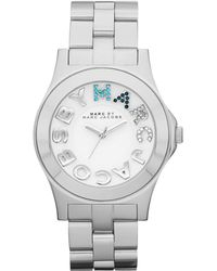 Marc By Marc Jacobs Womens Rivera Stainless Steel Bracelet 40mm - Lyst