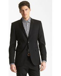 Shipley & Halmos Green Classic Suit Blazer - Lyst