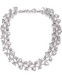 Swarovski Lightness Crystal Collar Necklace - Lyst