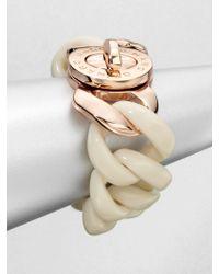 Marc By Marc Jacobs Chain Link Turnlock Bracelet - Lyst