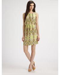 Tibi Layla Silk Crepe De Chine Dress - Lyst