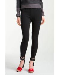 3.1 Phillip Lim Crop Trousers black - Lyst