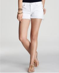 Citizens of Humanity Shorts Manic Cheeky Cutoff - Lyst