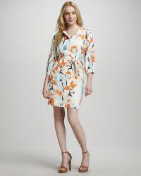 Diane von Furstenberg Julieta Printed Dress - Lyst