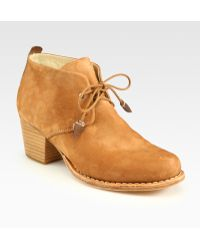 Rag & Bone Leighton Laceup Leather Desert Ankle Boots - Lyst