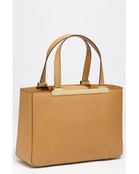 MICHAEL Michael Kors Large Saffiano Leather Tote - Lyst